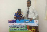 Sponsership to Mr.Gayan Senanayake