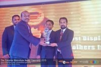 Award for the best display of tools in Colombo Motor Show 2015