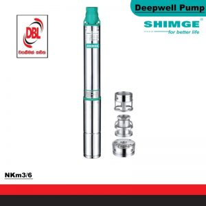 SUBMERSIBLE PUMP FOR DEEP WELL – NKm3/6
