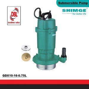SUBMERSIBLE & SEWAGE PUMP – QDX10-16-0.75L