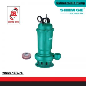 SUBMERSIBLE & SEWAGE PUMP – WQD6-16-0.75