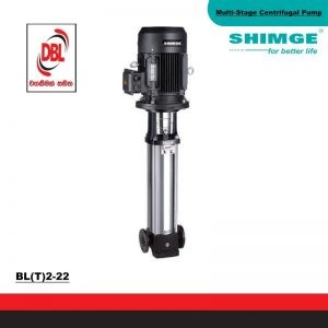 STAINLESS STEEL  MULTI-STAGE CENTRIFUGAL PUMP – BL(T)2-22