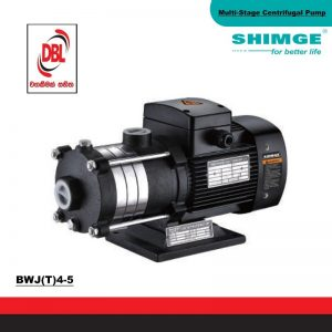 STAINLESS STEEL  MULTI-STAGE CENTRIFUGAL PUMP – BWJ(T)4-5
