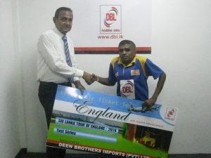 Sponsorship for Mr. Gayan Senanayake