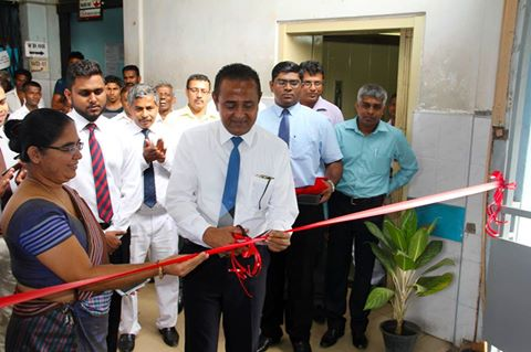 open the newly constructed pathway bridge of Matara Hospital
