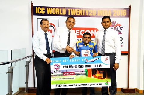 T20 world cup 2016 sponsorship