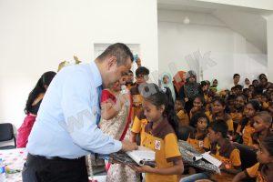 Annual Book donation @ NDF
