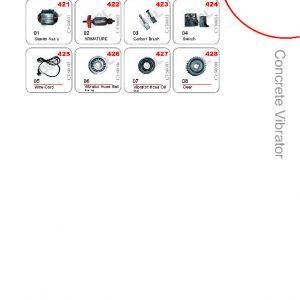 Concrete Vibrator Spare Parts