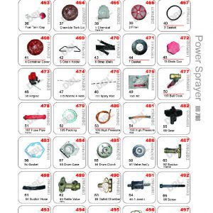 Power Sprayer Spare Parts