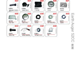 Earth Auger Spare Parts