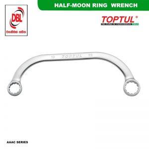 HALF-MOON RING WRENCH AAAC SERIES